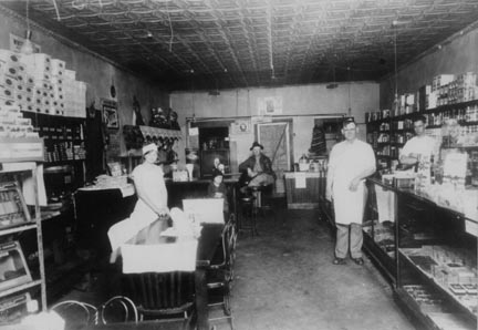 interior of the William's Store